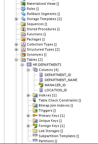Физическая модельв SQL Developer Data Modeler